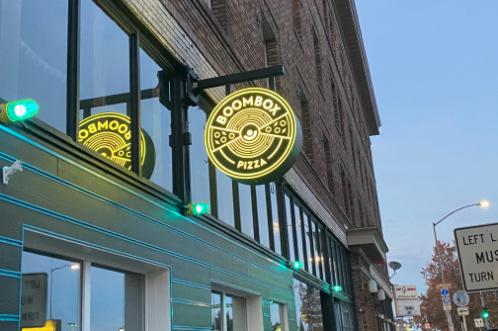Romane Construction Boombox Pizza Spokane, WA