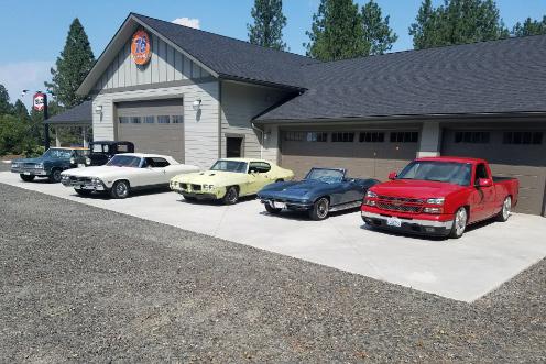 Romane Construction Custom Shops Spokane, WA