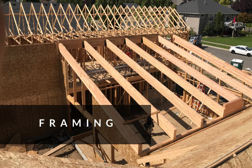 Romane Construction Framing Spokane, WA